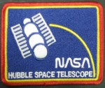 Hubble Telescope Embroidered Patch