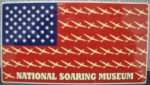 NSM Flag Window Cling
