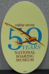 NSM 50th Anniversary Window Sticker